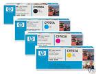 4 ORIGINALE TONER HP Color LaserJet 1500L 1500N 2500/C9700A C9701A C9702A C9703A