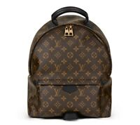 LOUIS VUITTON BROWN MONOGRAM COATED CANVAS PALM SPRINGS BACKPACK MM  HB1227