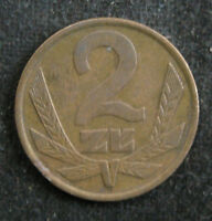 (438) Polen 2 Zloty 1977 Polska PL