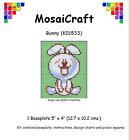 MosaiCraft Pixel Manualidades Mosaico Arte Kit 'Conejo' Como Pintar por números