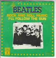 "THE BEATLES - Rock and Roll Music/I'll follow the sun ★ 7"" Vinyl Single"