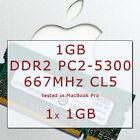 Ram1GB APPLE Mac MacBook/Pro/mini DDR2 667MHz PC2-5300 SODIMM 200-PIN 1x SDRAM