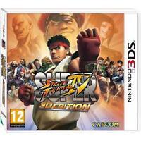 Super Street Fighter IV: 3D Edition (Nintendo 3DS) NEW & Sealed