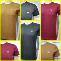 Armani Jeans Crew Neck T-Shirt Short Sleeve TRENDING  AJ