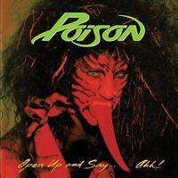 Poison Open Up & Say Ahh 180gm ltd Vinyl LP +g/f NEW sealed
