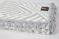 COVER CHAIR BEDSPREAD Double Cotton Blanket 155x200cm Throw Super Soft GIFT