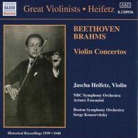 Beethoven, Brahms: Violin Concertos, , Very Good Original recording remastered