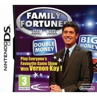 Family Fortunes TV Quiz Game for Nintendo NDS DS DSi 3DS 2DS Lite XL CART ONLY