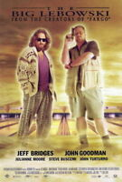 65283 The Big Lebowski Jeff Bridges, John Goodman FRAMED CANVAS PRINT Toile