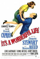 65497 It a Wonderful Life Movie James Stew FRAMED CANVAS PRINT Toile