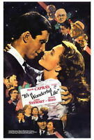 65665 It a Wonderful Life Movie James Stew FRAMED CANVAS PRINT Toile