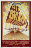 67530 Monty Python Life of Brian Graham Chapman FRAMED CANVAS PRINT Toile