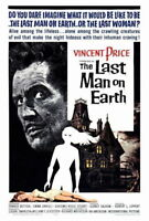 68694 The Last Man on Movie Vincent Pric FRAMED CANVAS PRINT Toile