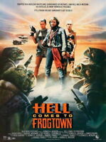 68999 Hell Comes Frogtown Roddy Piper Julius LeFlore FRAMED CANVAS PRINT Toile