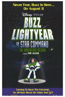 70910 Buzz Lightyear of Star Command: The Adventure FRAMED CANVAS PRINT Toile