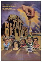 71923 Monty Python The Meaning of Life Movie FRAMED CANVAS PRINT Toile
