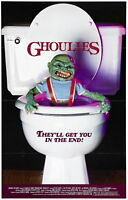 72490 GHOULIES Movie Horror Sci Fi FRAMED CANVAS PRINT Toile