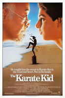 72282 The Karate Kid 1984 Drama Sport Classic Movie FRAMED CANVAS PRINT Toile