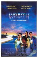 72477 WRAITH Movie RARE Horror Sci-Fi FRAMED CANVAS PRINT Toile