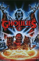 72871 GHOULIES Movie Horror Sci Fi FRAMED CANVAS PRINT Toile
