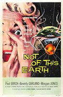73524 Not of This Earth Movie 1957 Sci-Fi FRAMED CANVAS PRINT Toile