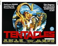 74127 Tentacles Movie 1977 Thriller Action FRAMED CANVAS PRINT Toile
