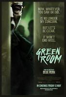 73333 Green Room Movie 2015 Crime Thriller FRAMED CANVAS PRINT Toile