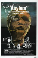 73968 Asylum Movie 2005 Thriller Drama FRAMED CANVAS PRINT Toile