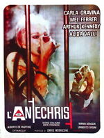 74226 THE ANTICHRIST Movie 1974 Thriller Classic FRAMED CANVAS PRINT Toile