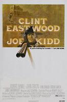 74292 JOE KIDD Movie RARE Clint Eastwood Western FRAMED CANVAS PRINT Toile