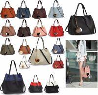 New Ladies Designer Handbags Fashion Hobo Shoulder Womens Faux-Fur Charm Bags