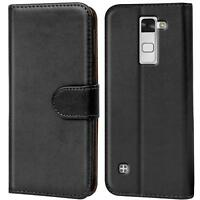Handy Klapp Tasche LG Stylus 2 Schutz Hülle Flip Cover Slim Case Schutzhülle