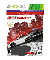 Need for Speed: Most Wanted Limited Edition (Microsoft Xbox 360, 2012) Disc Only