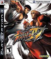 Street Fighter IV PS3 Playstation 3 - Black Label Sealed Brand New Game 4