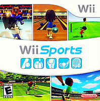 Wii Sports Nintendo Wii Kids Game Only 12i Tennis Golf Boxing Baseball