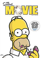 The Simpsons Movie (DVD, 2007, Full Screen)