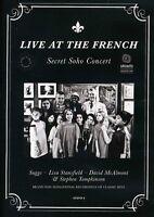 Live at the French: Secret Soho Concert (DVD, 2012) BRAND NEW SEALED - PAL