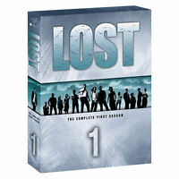Lost - The Complete First Season (DVD, 2005, 7-Disc Set) VERY GOOD