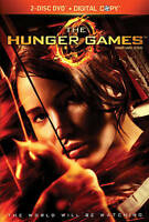 The Hunger Games (DVD, 2012, Canadian 2 DISC) BRAND NEW SEALED