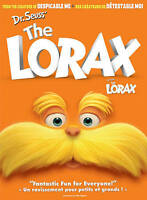 Dr. Seuss The Lorax (DVD, 2012, Canadian)NEW