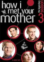 How I Met Your Mother - Season 3 (DVD, 2010, Canadian) DISC IS MINT
