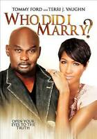 Who Did I Marry (DVD, 2013) BRAND NEW SEALED