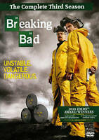 Breaking Bad: The Complete Third Season (DVD, 2011, 4-Disc Set) DISCS ONLY
