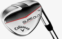 CALLAWAY SURE OUT GOLF WEDGE STEEL SHAFT - CHOOSE LOFT AND DEXTERITY
