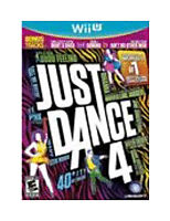 Just Dance 4  Nintendo Wii U Kids Dancing Game Family Fun!
