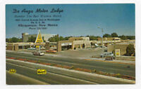 ROUTE 66 ALBUQUERQUE NM MOTOR LODGE POSTCARD PC3196