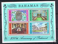 Bahamas 1979 Anniv.of Parliament MS SG549 MNH