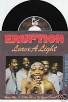 ERUPTION Leave A Light 45/GER/PIC