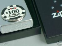 Mechero Zippo Poker chip. Original 2007