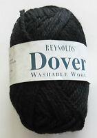 REYNOLDS DOVER Wool Yarn-20 Black